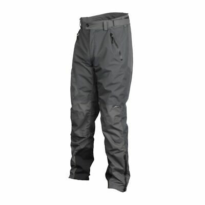 SAVAGE GEAR Black Savage Trousers Grey XL Angelhose by TACKLE-DEALS !!