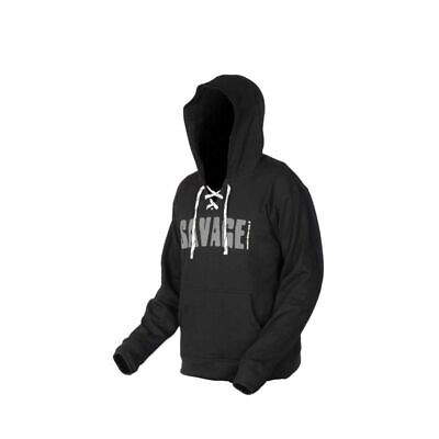 SAVAGE GEAR Simply Savage Hoodie Pullover S by TACKLE-DEALS !!!
