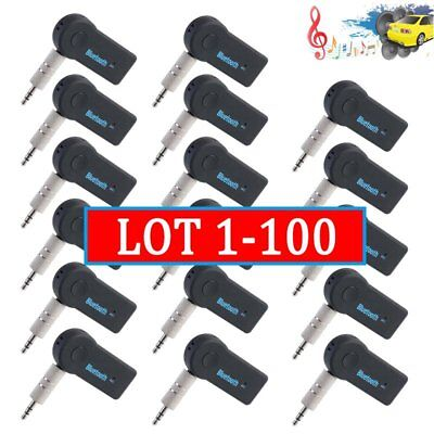 LOT Sale Bluetooth Receive Adapter Wireless Mic AUX Audio Stereo for Car Home SA