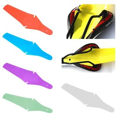 Bicycle Extended Rear Ass Fender Clip on Mudguards Rain Road /& Saver Mtb A6 O8P5
