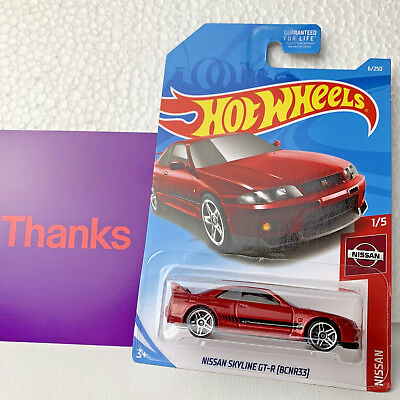 2019 Hot Wheels Nissan Skyline GT-R (BCNR33) 6/250 Jdm Nismo Diecast Car