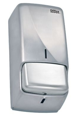 Office Depot Stainless Steel Cartridge Soap Dispenser 270 x 128 x 115mm C3D