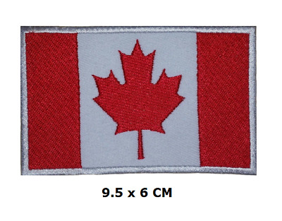 Canada Canadian National Country Flag Iron/ Sew-on Embroidered Patch/ Badge/Logo