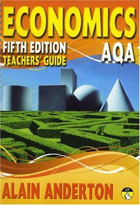 AQA A Level Economics Teacher's Guide: Tea... by Anderton, Mr Alain Spiral bound