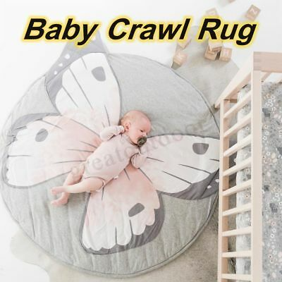 Soft Kids Baby Play Game Mat Acitivity Rug Floor Cotton Crawl Room Cushion