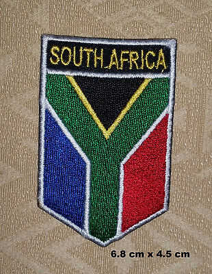 South Africa / African Country National Flag Iron/ Sew-on Embroidered Patch