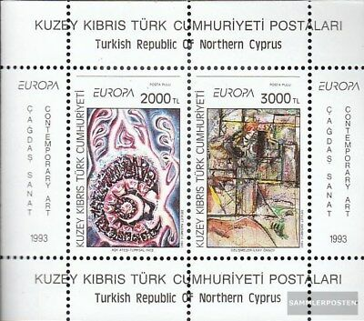 Turkish-Cyprus block12 (complete.issue.) unmounted mint / never hinged 1993 Art