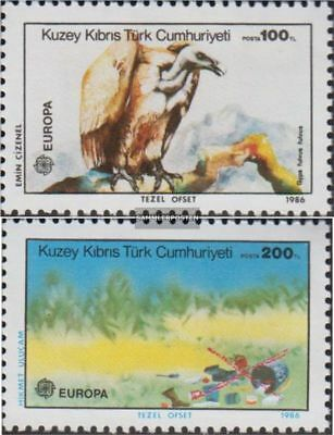 Turkish-Cyprus 179-180 (complete.issue.) unmounted mint / never hinged 1986 Euro