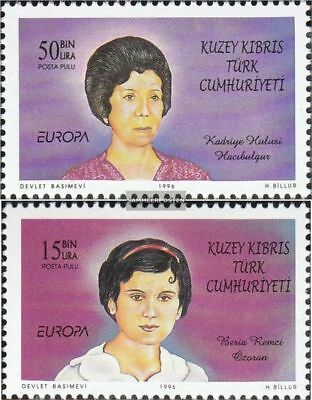 Turkish-Cyprus 428-429 (complete.issue.) unmounted mint / never hinged 1996 Wome