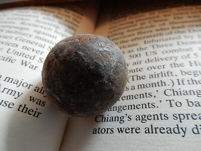 Attractive Tactile  Small Marble Or Ball 19Th C Military ?