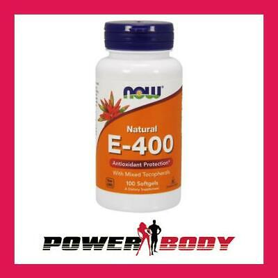 NOW Foods - Vitamin E-400 - Natural (Mixed Tocopherols)