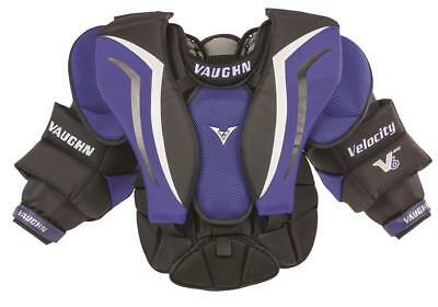New Vaughn V6 800 Junior Medium Large Ice Hockey Goalie Chest And