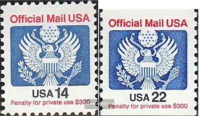 U.S. D108A-D109C (complete.issue.) unmounted mint / never hinged 1985 State Embl
