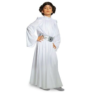 Disney Store Princess Leia Costume Star Wars NWT 33% Off Kids sizes 4, 5/6, 7/8