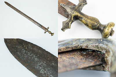 Antique Sword old of the Mughal Empire Dagger  knife weapons  beautiful kt010
