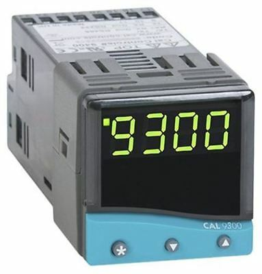 CAL 9300 PID Temperature Controller, 48 x 48 (1/16 DIN)mm, 2 Output Relay, SSD,
