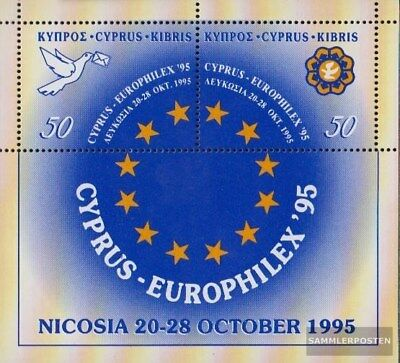 Cyprus block17 (complete.issue.) unmounted mint / never hinged 1995 Stamp Exhibi