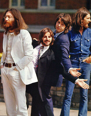 """The Beatles 1969, August 8, Abbey Road  Photo Print 14 x 11"""""""
