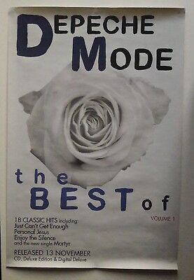 Best Of Depeche Mode Vol 1 - Original Promo Poster