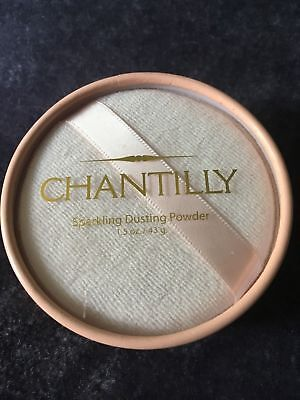 Vintage Chantilly Sparkling Dusting Powder 1.5 oz. BRAND NEW UNBOXED  B145