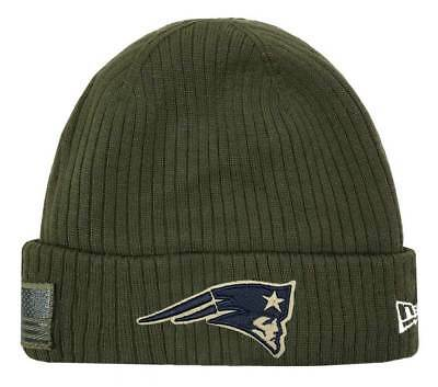 99faff97d37 New Era 2018 NFL New England Patriots Salute to Service Knit Hat Stocking  Beanie