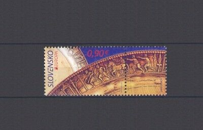 SLOVAKIA, EUROPA CEPT 2012, VISIT with LABEL, MNH
