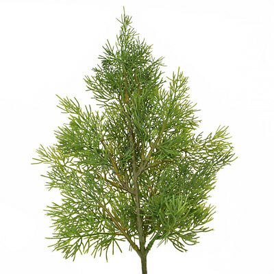 Artificial Green Plants Indoor Outdoor Fake Cypress Tree Leaf Christmas Decor
