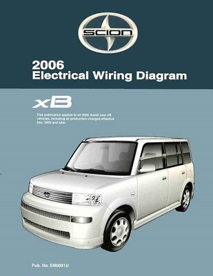 2006 scion xb wiring diagrams schematics layout factory oem