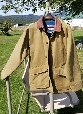 Koolah  Red Healer Country Wax- 100% 2 Ply Waxed Duck Jacket Lined (M/M Gold)