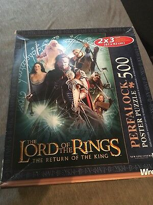Lord Of The Rings - Return Of The King - Perfalock Puzzle - 500 Pieces - 2x3 ft