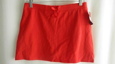 Girl's Red Cotton Skort ~ New With Tags ~ Size XL (14/16)