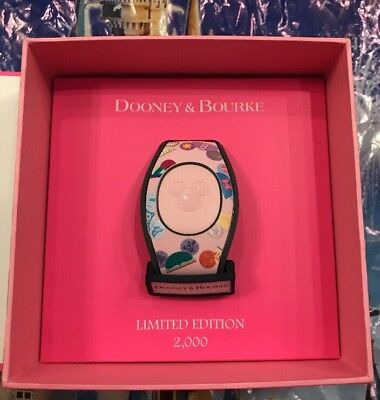 Disney Pink Princess Ear Hat Dooney And Bourke Magicband Magic Band 2 LE 2000