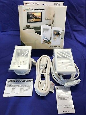 PowerBridge ONE-CK, In-Wall Cable Management System for Wall-Mounted TVs-NEW