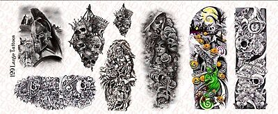 Waterslide Decals Flames pack 1//6 Scale Custom Tattoos  for Action Figures