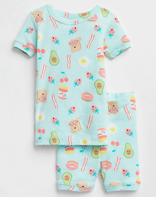 GAP OLD NAVY GIRL Shimmer and Shine Sleep Set PAJAMAS NWT 2T 3T NNN N10