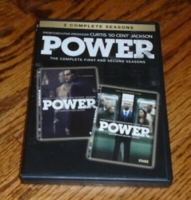 Power: The Complete First & Second Seasons (DVD)