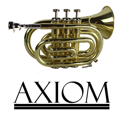 Axiom Pocket Trumpet Outfit - School Trumpet - Including Case