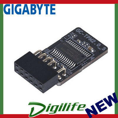 Gigabyte GC-TPM2.0_S Trusted Platform Module for X299, Z370, X399, AB350N AMD