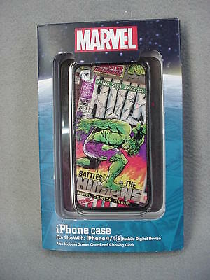 Disney Parks Marvel Comics INCREDIBLE HULK Cell Phone Case for iPhone 4S NEW