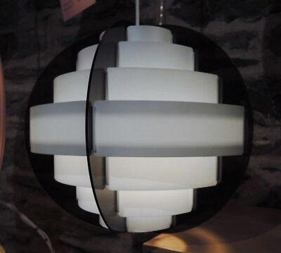 Vintage Pendant Light Danish Modern Design by 'Quality System' c.1970