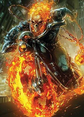 Cosmic Ghost Rider #4 (Of 5) Maxx Lim Marvel Battle Lines Variant Earlyoctober