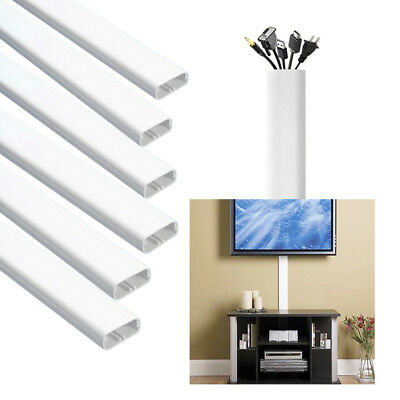 Hide Cables On-Wall Cord Cover Raceway Kit Cable Management Cable Concealer