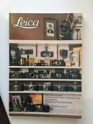 Leica Rare And Unusual Leicas and Accessories - Hasbroeck