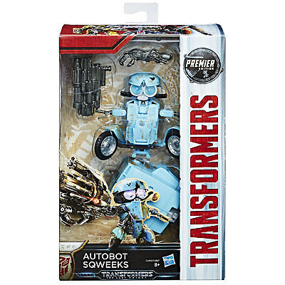 Transformers The Last Knight Premier Edition Deluxe Class AUTOBOT SQWEEKS Hasbro