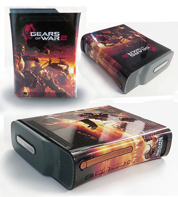 Microsoft Xbox 360 Pro Limited Edition Gears Of War 2 Game Console *Ultra Rare*