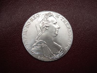 1780 Dated Austria Maria Theresa Thaler - Restrike - Lovely Unc. Coin