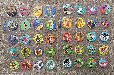 220 Complete Tazos Set - Looney Tunes, Simpsons, Techno, Time Warp, Frito Lay