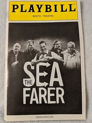 The Seafarer Playbill W/ TICKET Booth Theatre Conleth Hill Connor McPherson