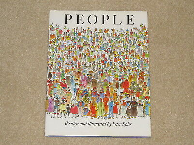 People by Peter Spier (1980, Hardcover)