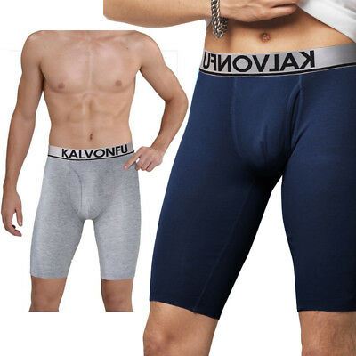 New Men Compression Shorts Breathable Sport Boxer Trousers Fitness Shaping Pants